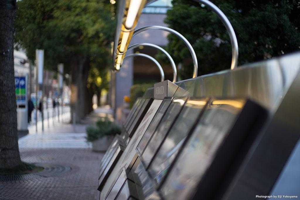 青山通り。スムーズなボケだと思います。