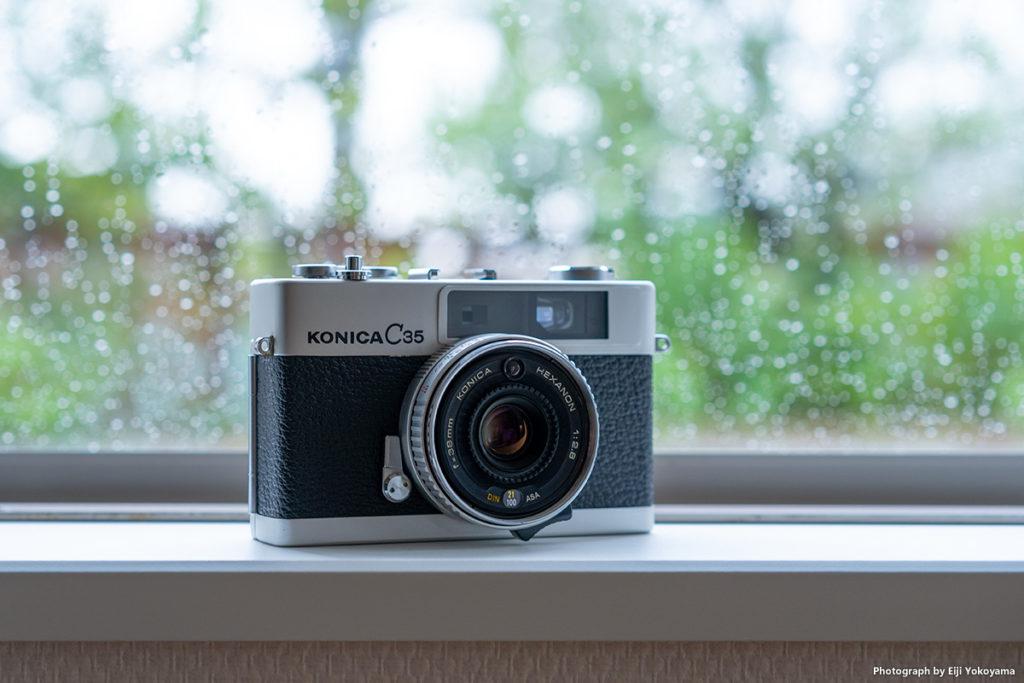 コニカ C35 (KONICA C35), HEXANON 38mm F2.8