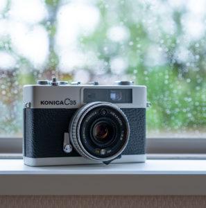 昭和のコンパクトフィルムカメラ色々 その1