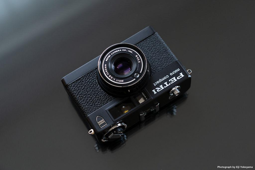 こちらは、ペトリ マイクロコンパクト(PETRI micro compact)ブラックボディー。