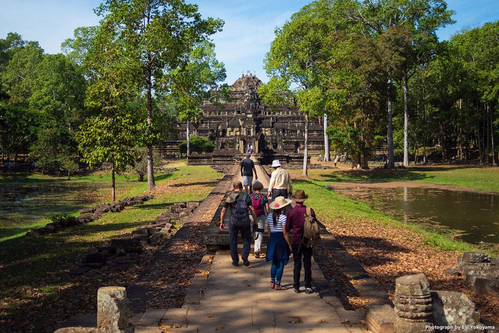アンコールトム(Angkor Thom)、バプーオン。