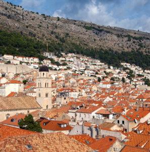ドブロブニク,クロアチア アドリア海・地中海クルーズ その1