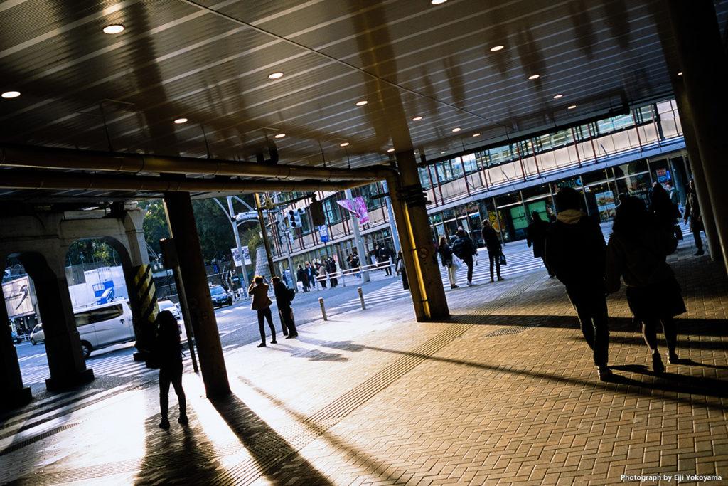 上野駅。この辺り、変わりませんね。レトロでイイ感じです。