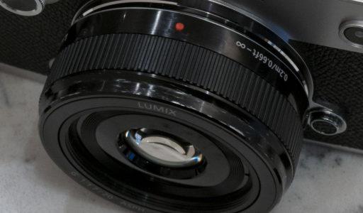 LUMIX G 20mm/F1.7 II ASPH. 鏡胴エイジング