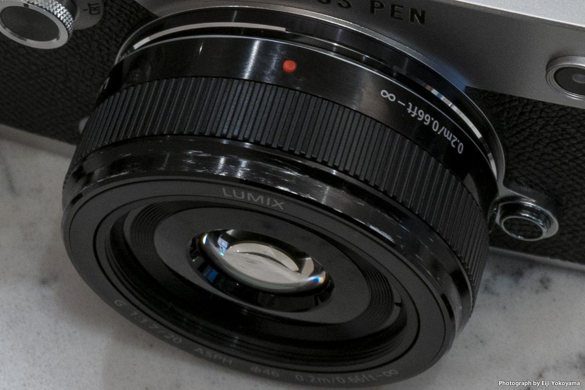 LUMIX G 20mm/F1.7 II ASPH. 鏡胴エイジングをしてみた。