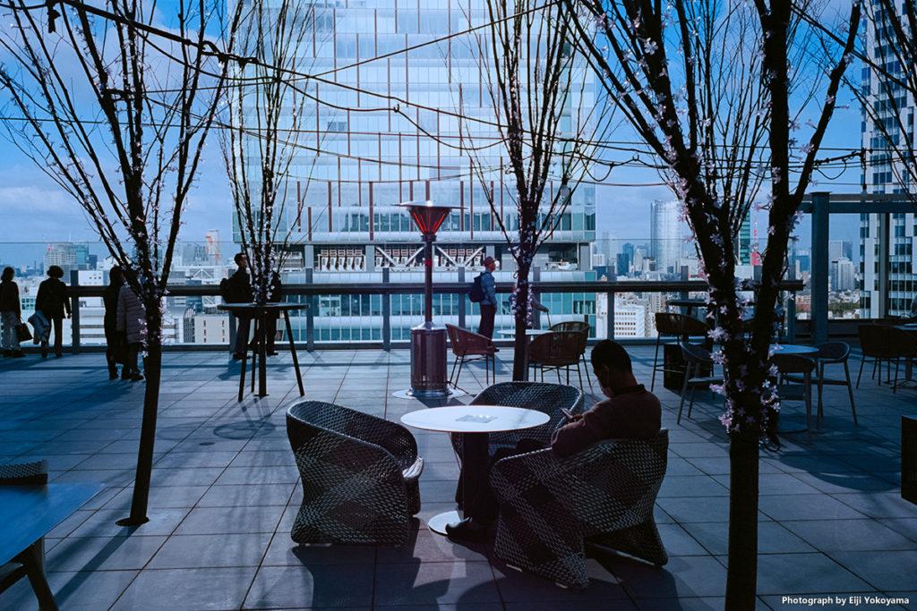 東急プラザ渋谷の17階屋上テラス「SHIBU NIWA」