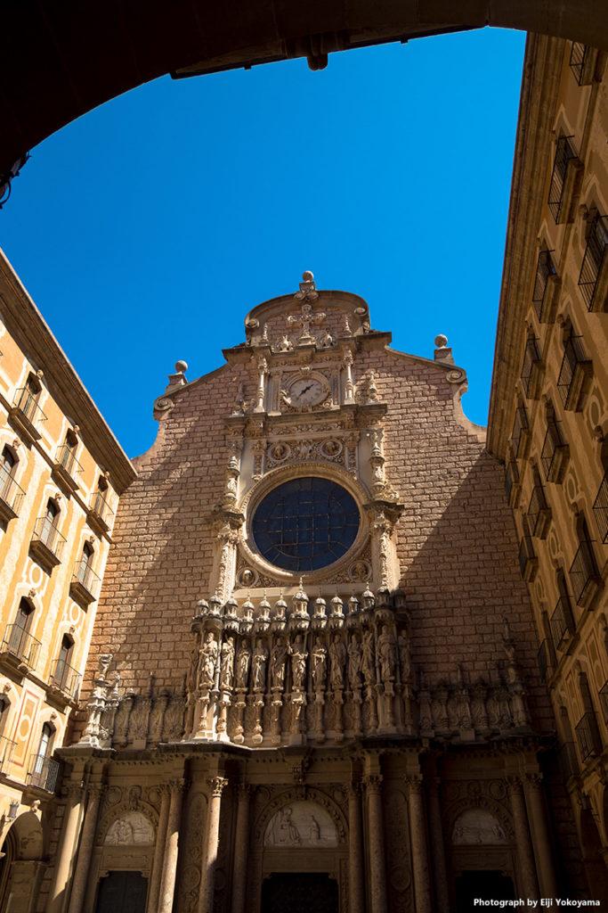 修道院付属の大聖堂。