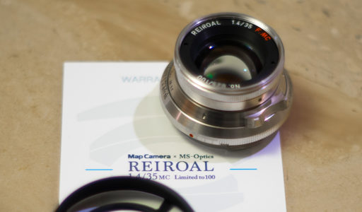 MS-Optics REIROAL M35mm F1.4 MC プラチナクローム