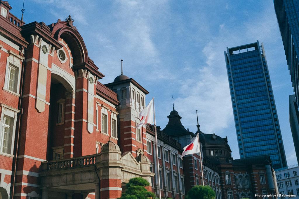 東京駅。by Rollei 35(ローライ35)フィルムFUJICOLOR100