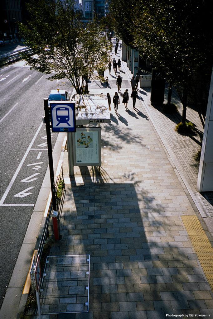 青山通り。CONTAX T3(コンタックスT3)