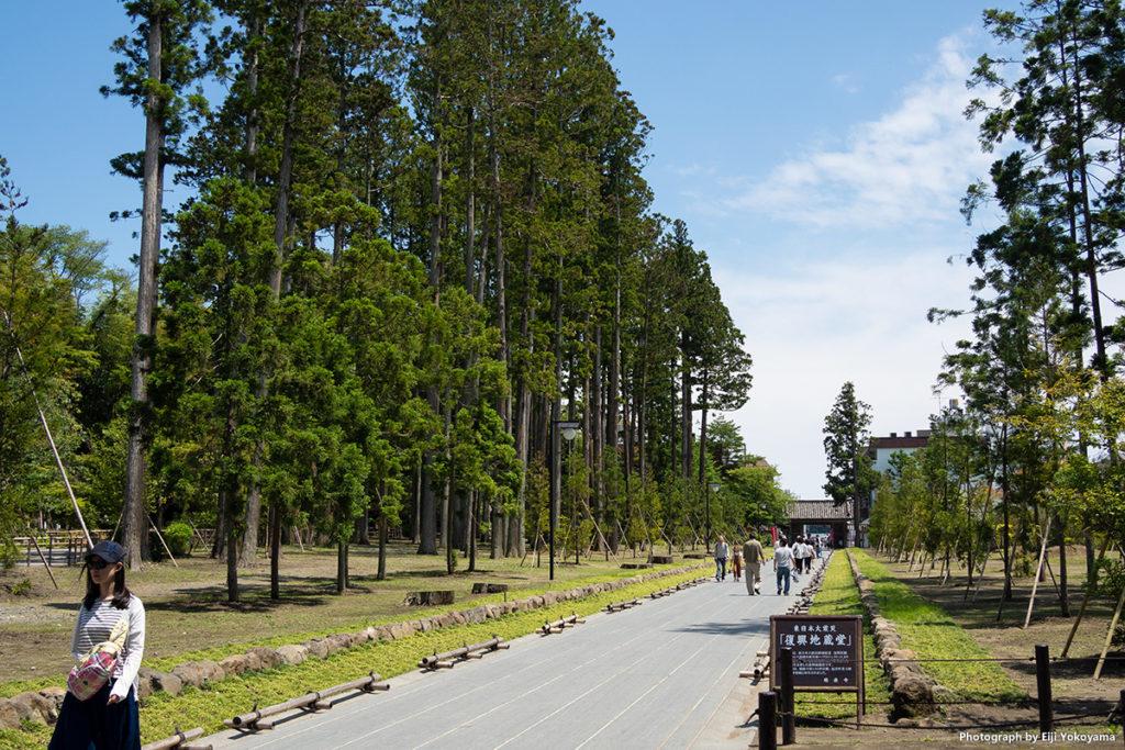 松島、瑞巌寺。昼から晴れてきて、暑い!
