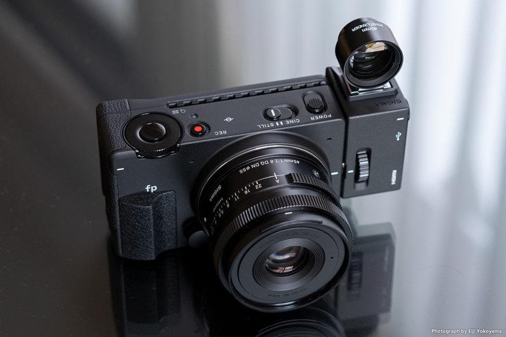 SIGMA fp + 45mm F2.8 DG DN