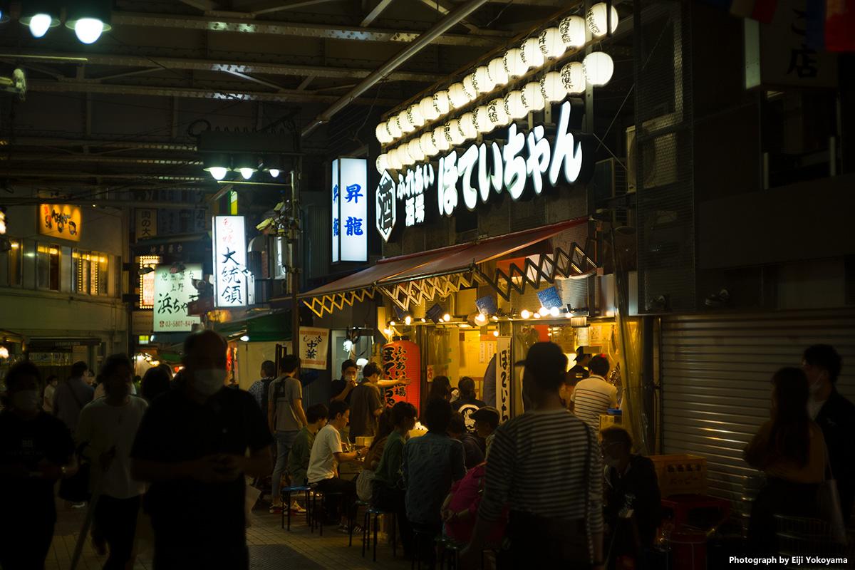 緊急事態宣言解除後、日曜日の上野