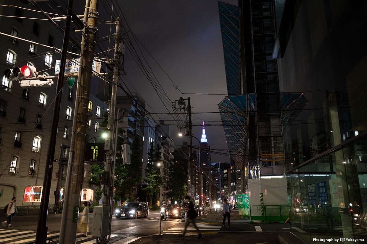 東京・電柱のある風景