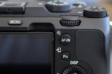 α7C AF-ONボタン