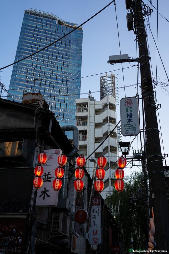 渋谷。α7C(ILCE-7C) + Sonnar T* FE 35mm F2.8 ZA