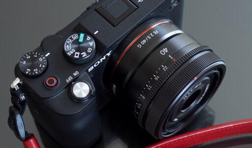 SONY FE 40mm F2.5 G (SEL40F25G) + α7C