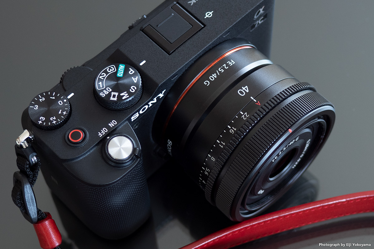 SONY FE 40mm F2.5 G、α7Cでちょっとレビュー