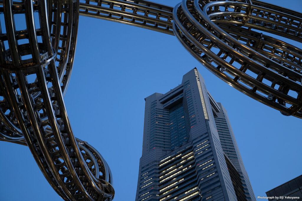 横浜、ランドマークタワー。
