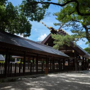 熱田神宮 GRIIIで