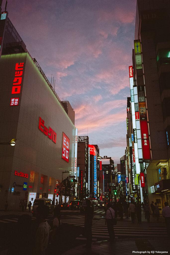 新宿 / Kodak ColorPlus 200